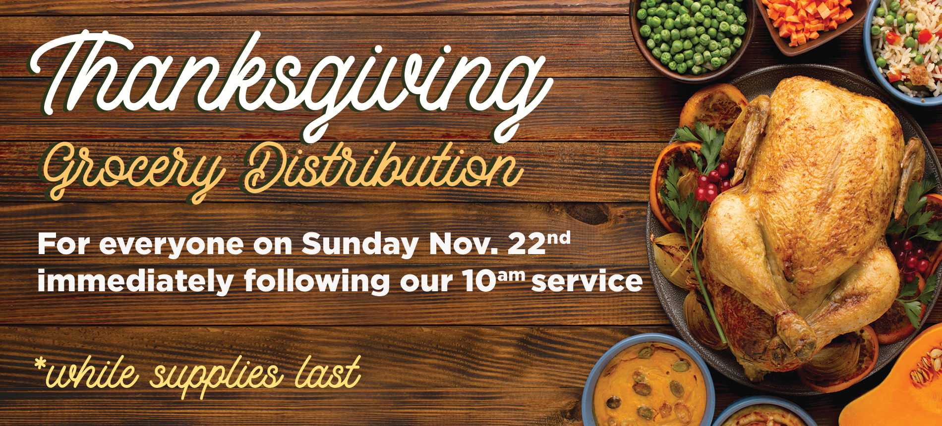 WHCE | Thanksgiving Grocery Distribution