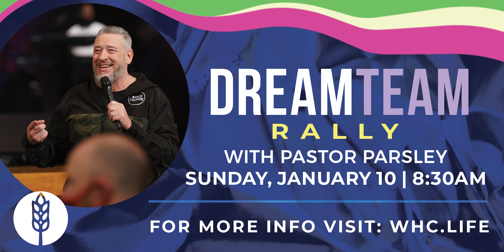 Sunday January 10 at 8:30 AM ET DreamTeam Meeting
