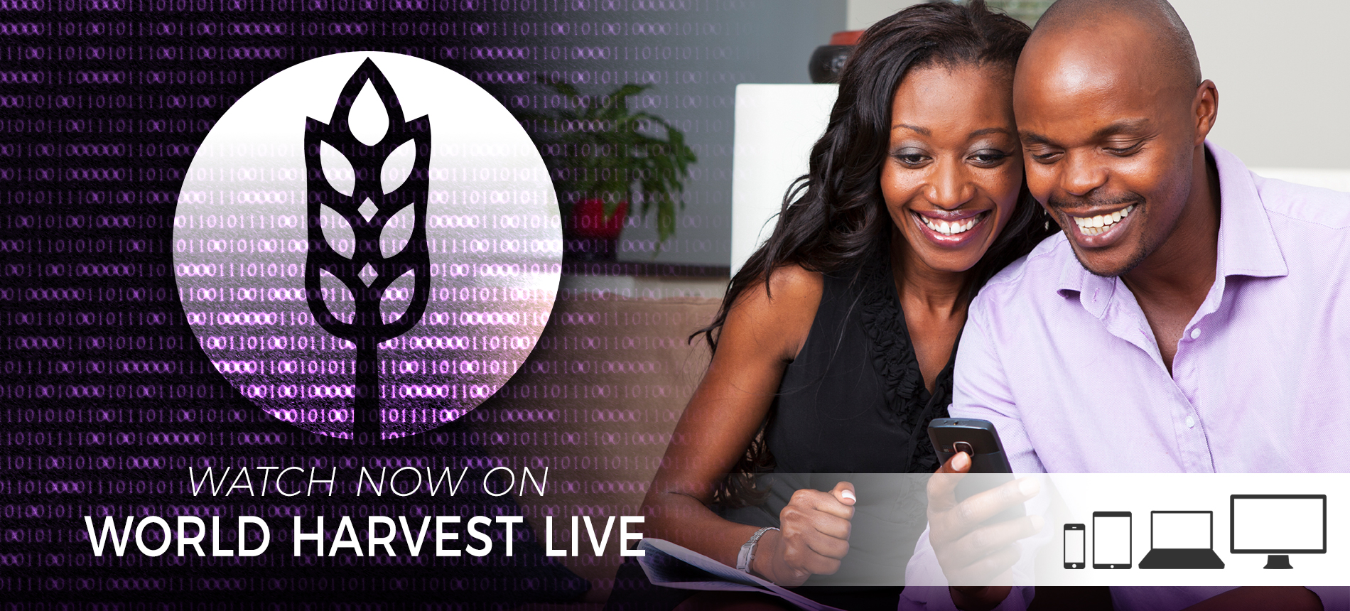 WHCE | Watch World Harvest Live