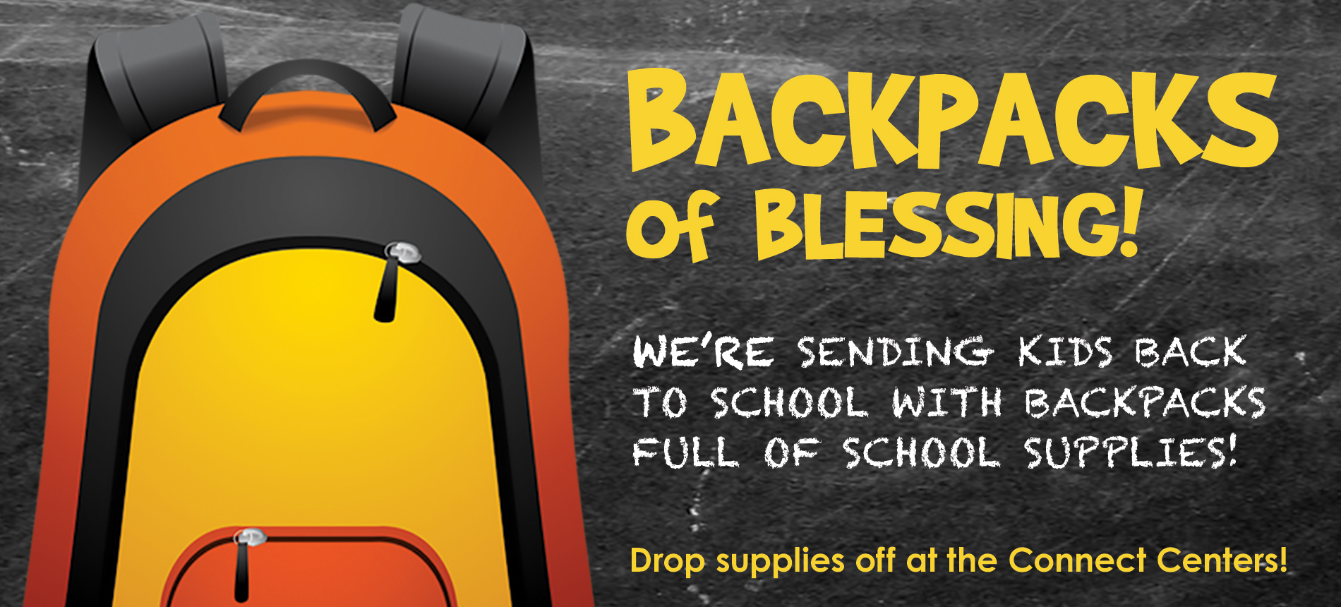 WHCE | Backpacks of Blessing